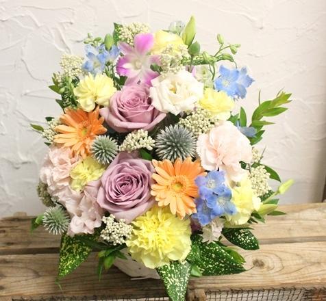 父の日 生花のプレゼント_d0227610_19312382.jpg