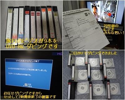 パソコンのカスタマイズ&ビデオテープの整理&アナベルの挿し木_a0084343_10420769.jpg