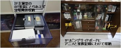 パソコンのカスタマイズ&ビデオテープの整理&アナベルの挿し木_a0084343_10421234.jpg