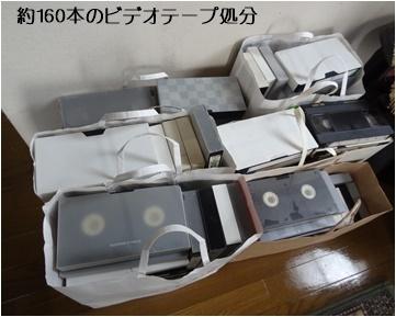 パソコンのカスタマイズ&ビデオテープの整理&アナベルの挿し木_a0084343_10421690.jpg