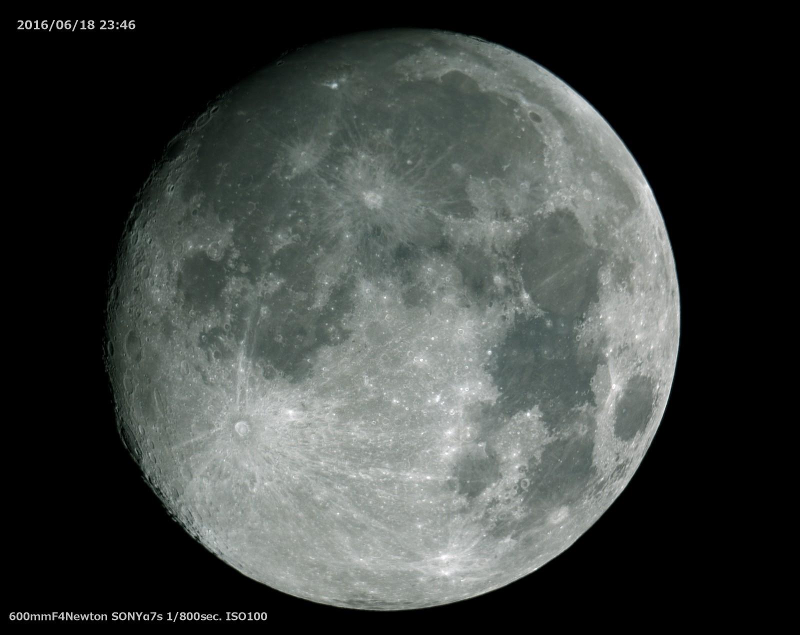 60cmドブソニアン自作記(178)光軸を合わせて月を撮る_a0095470_118336.jpg