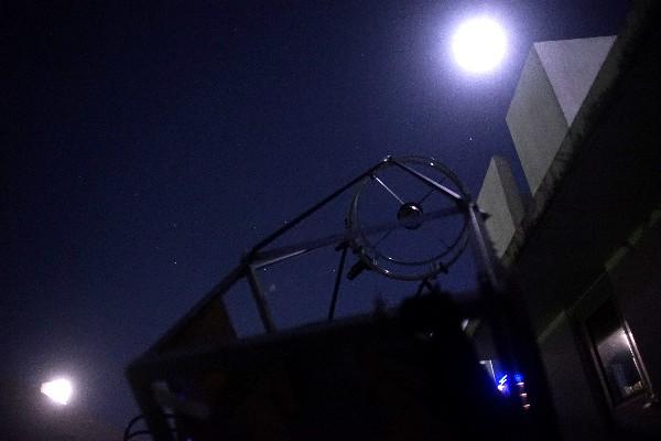 60cmドブソニアン自作記(178)光軸を合わせて月を撮る_a0095470_1191512.jpg