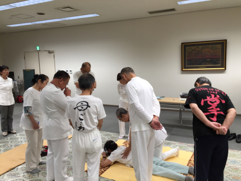 日本赤十字社にて、日本指圧協会 学術部 指圧治療研究会_a0112393_21255804.jpg