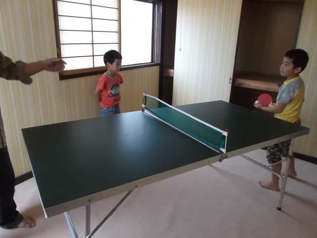 孫たちの家へ卓球台を運んだ_f0019498_15313971.jpg