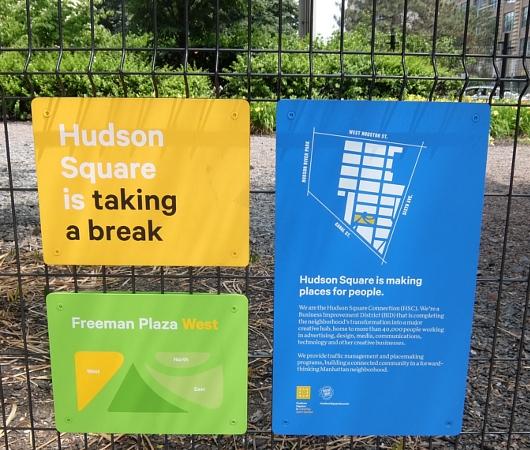 ニューヨークの都市再開発は公園から・・・、ハドソン・スクエアの例_b0007805_2132873.jpg