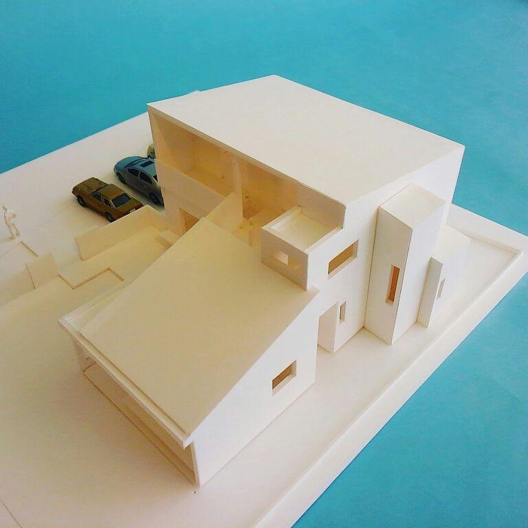 「明石の家」模型_f0230666_9485493.jpg