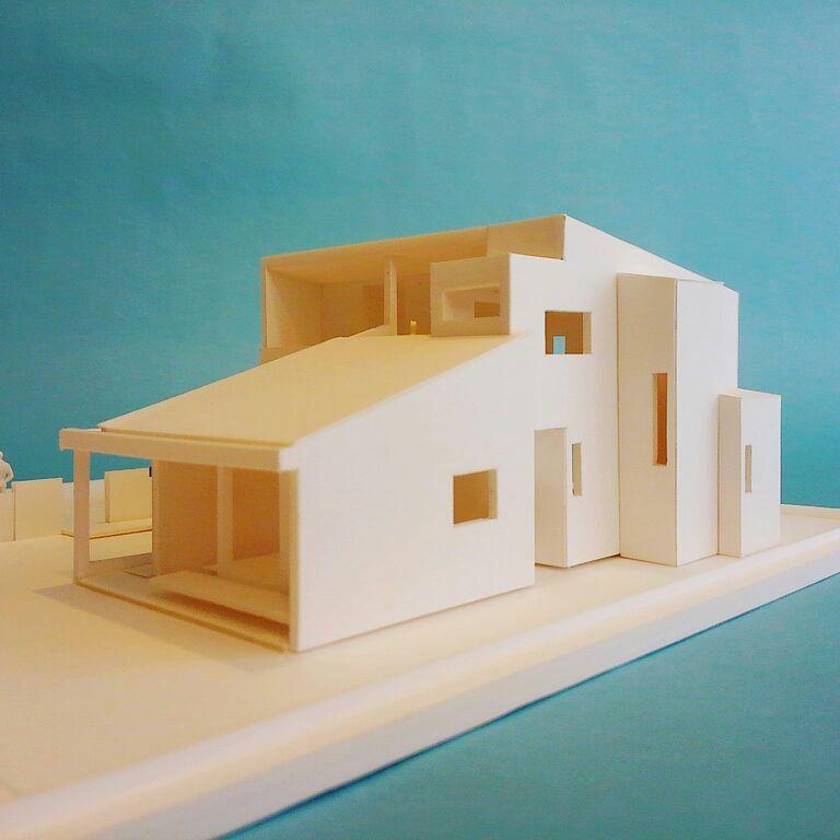 「明石の家」模型_f0230666_9521447.jpg