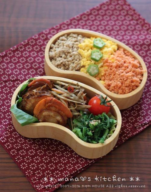 月曜鮭弁 ✿ 父の日の晩ご飯は・・・(。・w・。)ムフッ♪_c0139375_1111401.jpg