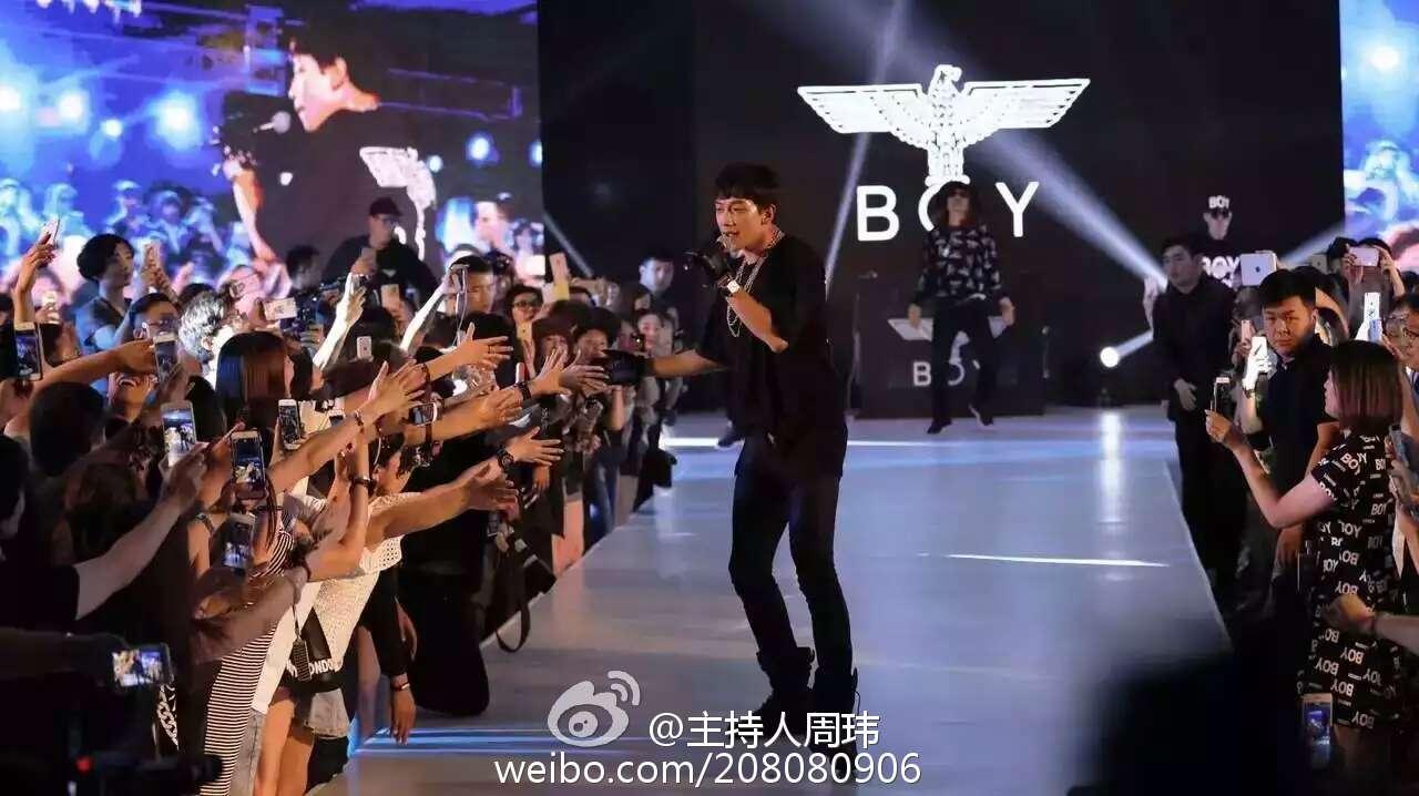 Rain  BOYLONDON 2016 ファッションショー in 北京_c0047605_753284.jpg