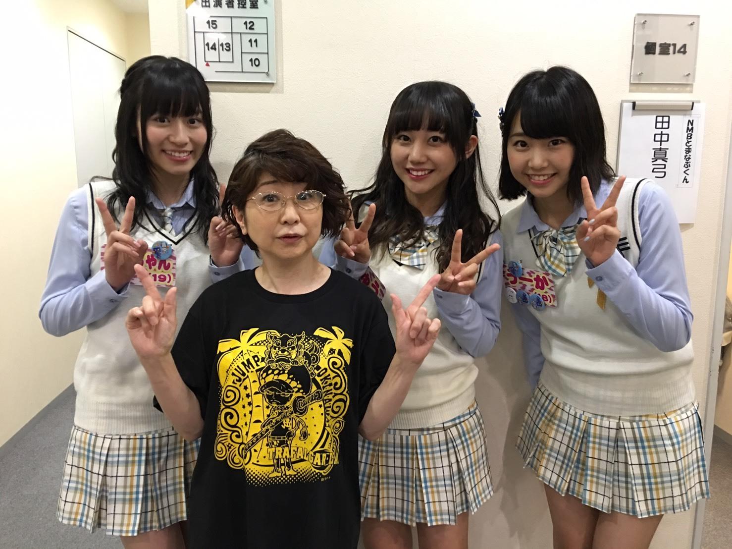 関西テレビ「NMBとまなぶくん」_a0163623_20450576.jpg