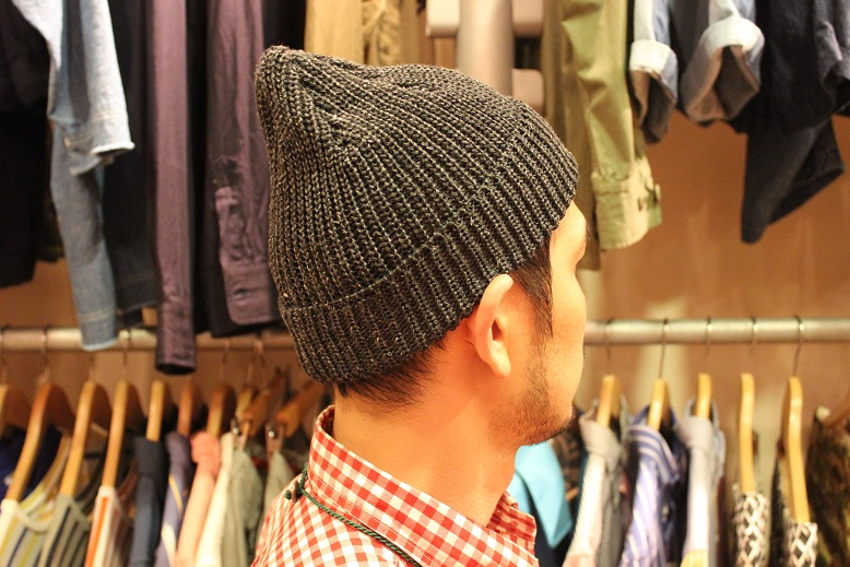 "SLOW ""LINEN WATCH CAP by TOOLS\"" ご紹介_f0191324_9201467.jpg"