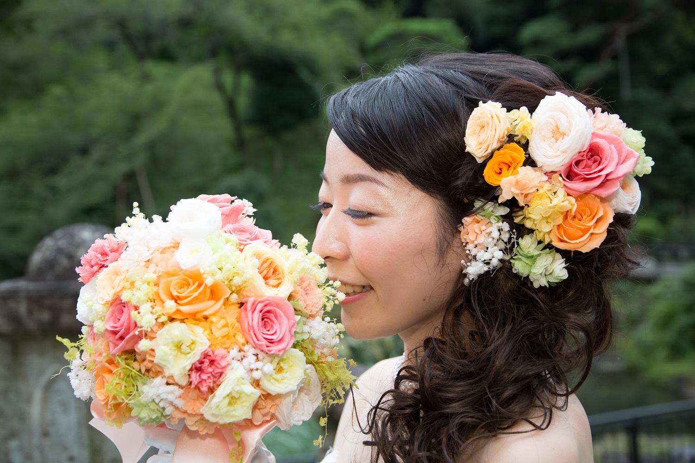 新郎新婦様からのメール 椿山荘の花嫁様より、たくさんのお写真とたくさんの言葉たち_a0042928_1222645.jpg
