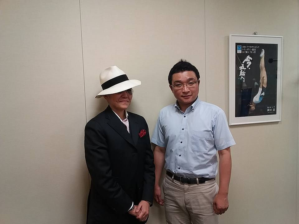 阪南大学の宝塚みたいな副学長に会いに行く_f0138645_8514628.jpg