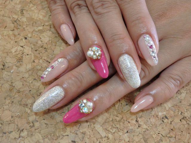 Pink Nail_a0239065_17192141.jpg