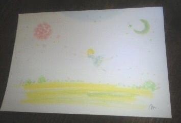 光とカメと花の流れ  インスピアート***_e0290872_22321014.jpg