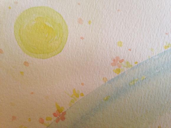 光とカメと花の流れ  インスピアート***_e0290872_22331418.jpg