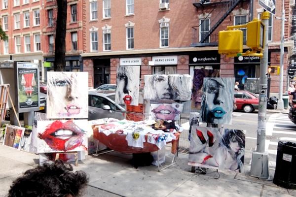 初夏のニューヨーク、SOHOの街角でアート作品を愛でる_b0007805_752321.jpg