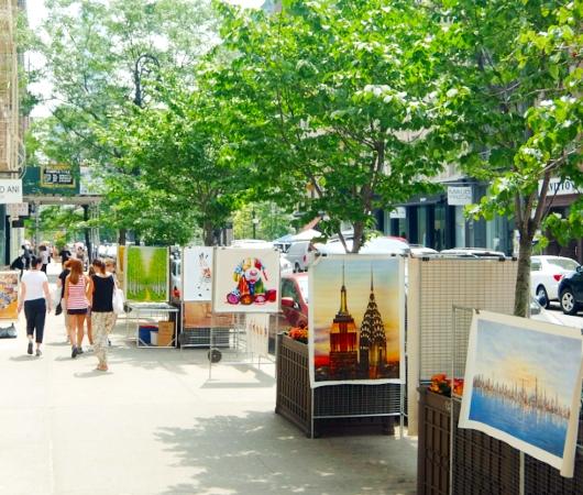 初夏のニューヨーク、SOHOの街角でアート作品を愛でる_b0007805_7523342.jpg