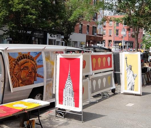 初夏のニューヨーク、SOHOの街角でアート作品を愛でる_b0007805_7535964.jpg
