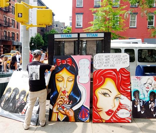初夏のニューヨーク、SOHOの街角でアート作品を愛でる_b0007805_7561896.jpg