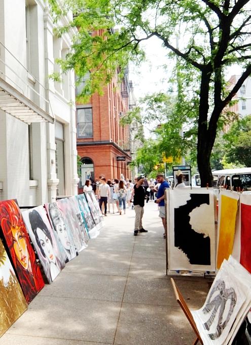 初夏のニューヨーク、SOHOの街角でアート作品を愛でる_b0007805_7564386.jpg