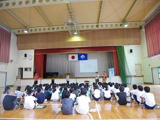 出張林業教室@長田北小学校_d0180132_1656079.jpg