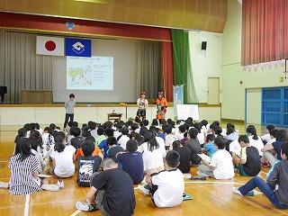 出張林業教室@長田北小学校_d0180132_16575939.jpg