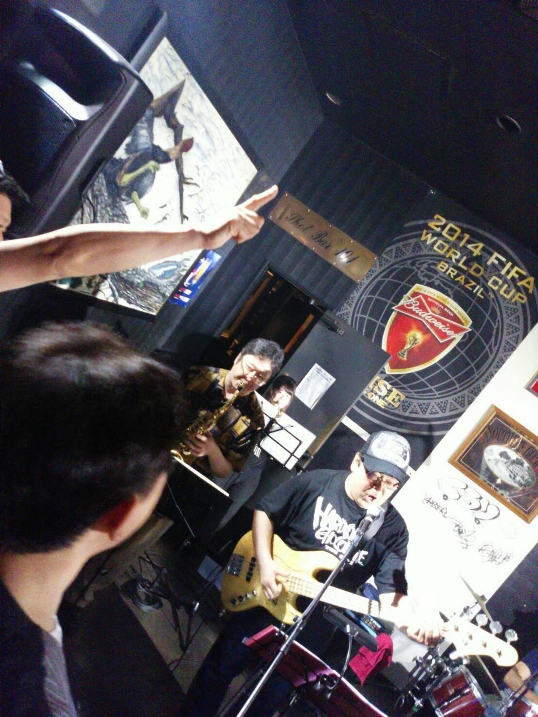 6月19日(日)HAMER\'S LIVE at 相馬FOOD & BAR 101 _b0206845_10305111.jpg
