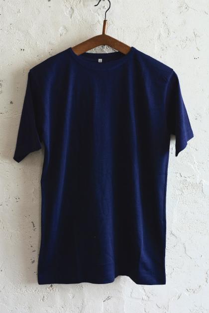 Italian navy boatneck wool t-shirts_f0226051_12051341.jpg