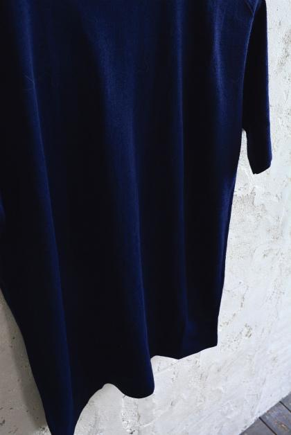 Italian navy boatneck wool t-shirts_f0226051_12074095.jpg