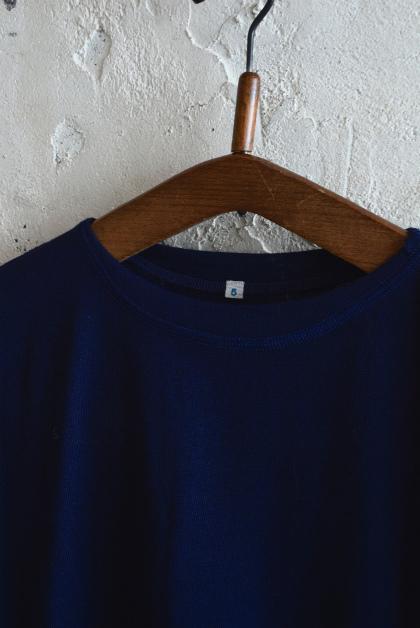 Italian navy boatneck wool t-shirts_f0226051_12093608.jpg