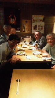 遠藤さんたちと@沢瀉食堂(名古屋)_f0030155_2134259.jpg