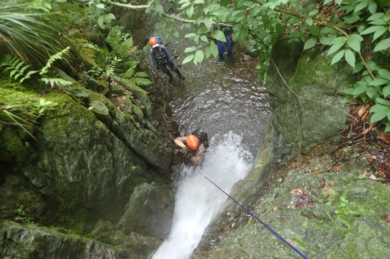 初めての沢登り~シャワークライミングで行こう!_d0110562_14214733.jpg