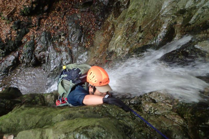 初めての沢登り~シャワークライミングで行こう!_d0110562_14215564.jpg