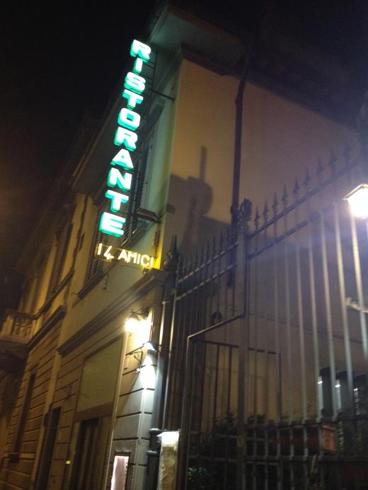 フィレンツェ創業30年の魚介レストラン_a0136671_111756.jpg