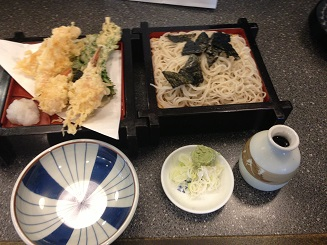 これ食べました。札幌 そば処東屋本店「かに天ざる」_f0362073_3424653.jpg