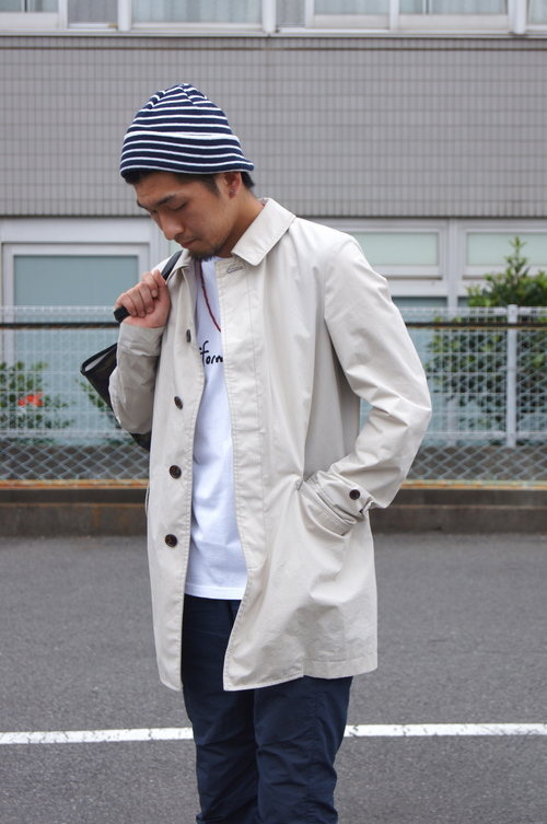 Rainy Season Coordinate Soutien Collar Coat._c0079892_19273572.jpg