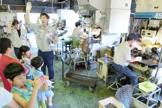 クラウドファンディングは日本の地方都市を生まれ変わらせるかも? 岐阜県関市の工場参観日!!!_b0007805_19415694.jpg
