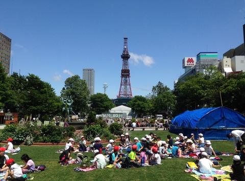 6月22日 大通公園_a0317236_7562477.jpg