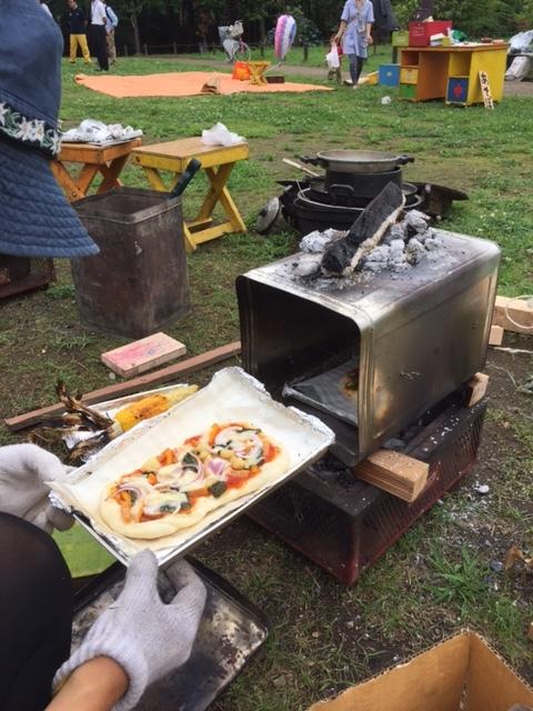6月22日(水)一斗缶でピザを焼いたよ!&消防署講習会/プレーカー_c0120851_20172621.jpg