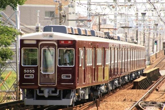 阪急今津線  転用  5004F 返却回送_d0202264_14225193.jpg