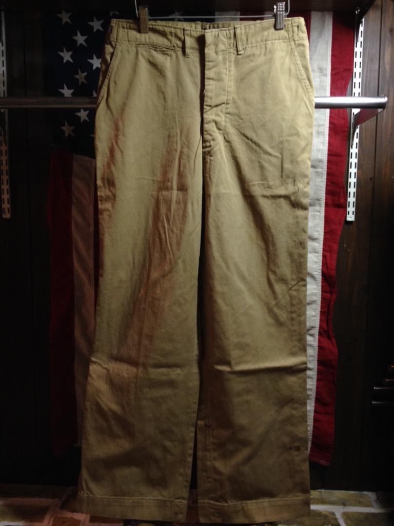 神戸店6/25(土)ヴィンテージ入荷!#3 30\'s U.S.M.C.  Metal Button Chino Trousers!!!(T.W.神戸店)_c0078587_21322166.jpg