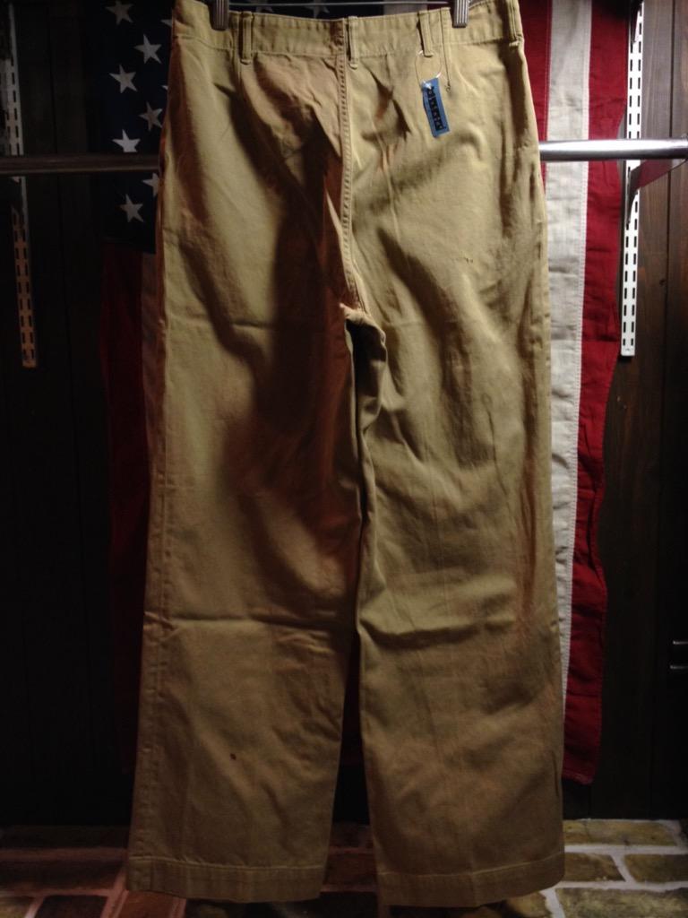 神戸店6/25(土)ヴィンテージ入荷!#3 30\'s U.S.M.C.  Metal Button Chino Trousers!!!(T.W.神戸店)_c0078587_21323275.jpg