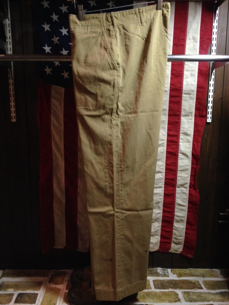 神戸店6/25(土)ヴィンテージ入荷!#3 30\'s U.S.M.C.  Metal Button Chino Trousers!!!(T.W.神戸店)_c0078587_21324487.jpg