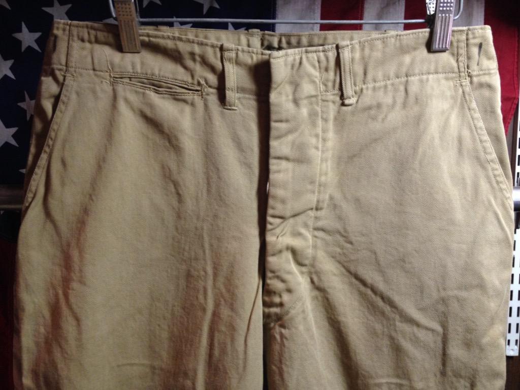 神戸店6/25(土)ヴィンテージ入荷!#3 30\'s U.S.M.C.  Metal Button Chino Trousers!!!(T.W.神戸店)_c0078587_2135491.jpg