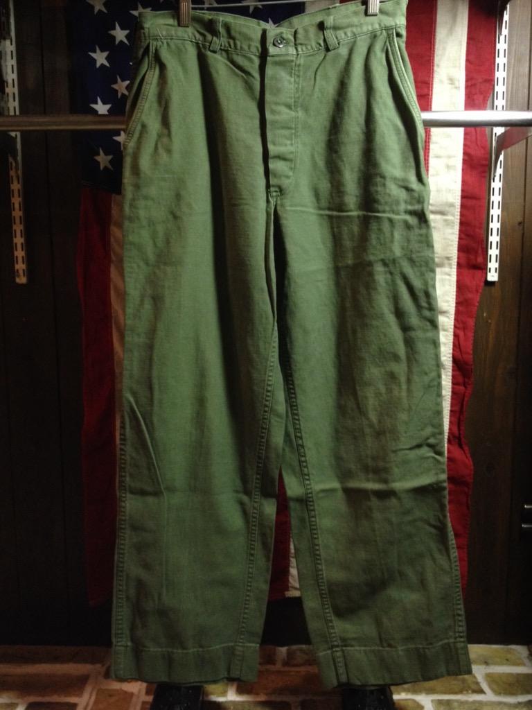 神戸店6/25(土)ヴィンテージ入荷!#3 30\'s U.S.M.C.  Metal Button Chino Trousers!!!(T.W.神戸店)_c0078587_21393971.jpg