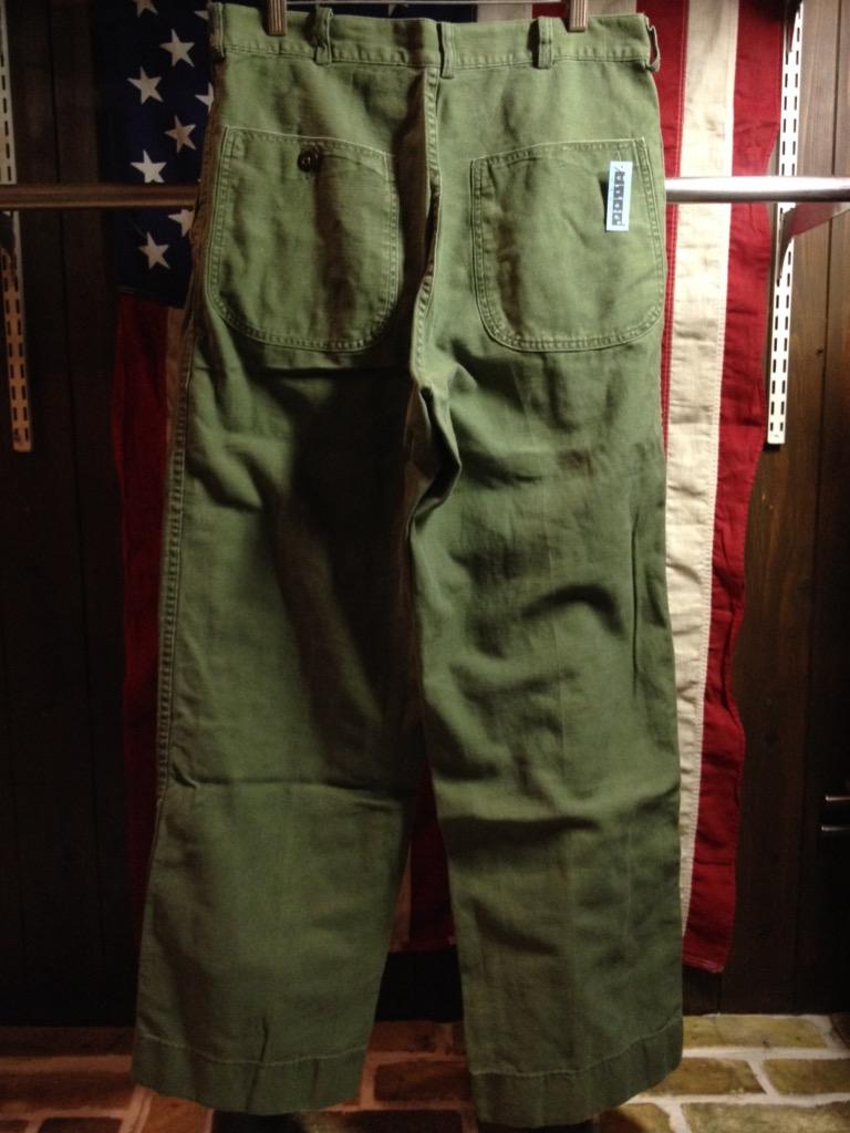 神戸店6/25(土)ヴィンテージ入荷!#3 30\'s U.S.M.C.  Metal Button Chino Trousers!!!(T.W.神戸店)_c0078587_21395796.jpg