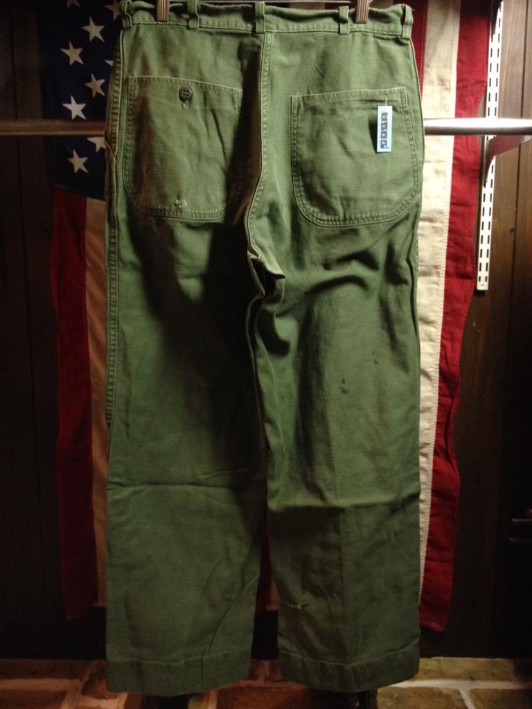 神戸店6/25(土)ヴィンテージ入荷!#3 30\'s U.S.M.C.  Metal Button Chino Trousers!!!(T.W.神戸店)_c0078587_21431480.jpg
