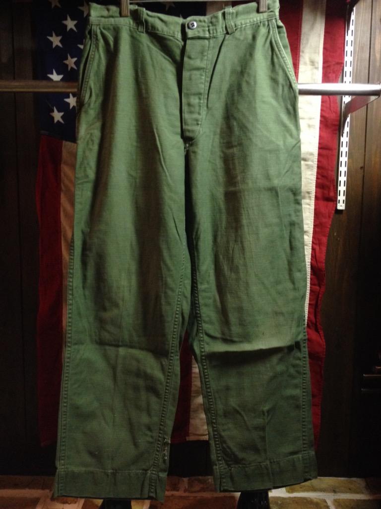 神戸店6/25(土)ヴィンテージ入荷!#3 30\'s U.S.M.C.  Metal Button Chino Trousers!!!(T.W.神戸店)_c0078587_2143238.jpg
