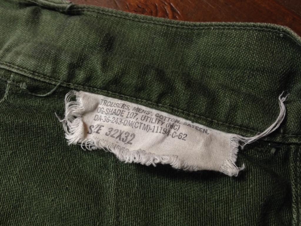 神戸店6/25(土)ヴィンテージ入荷!#3 30\'s U.S.M.C.  Metal Button Chino Trousers!!!(T.W.神戸店)_c0078587_2144757.jpg